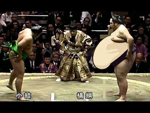 大乃国 Onokuni 仕切り映像集(平成元年 1989) 博多中洲は恋の町 ...