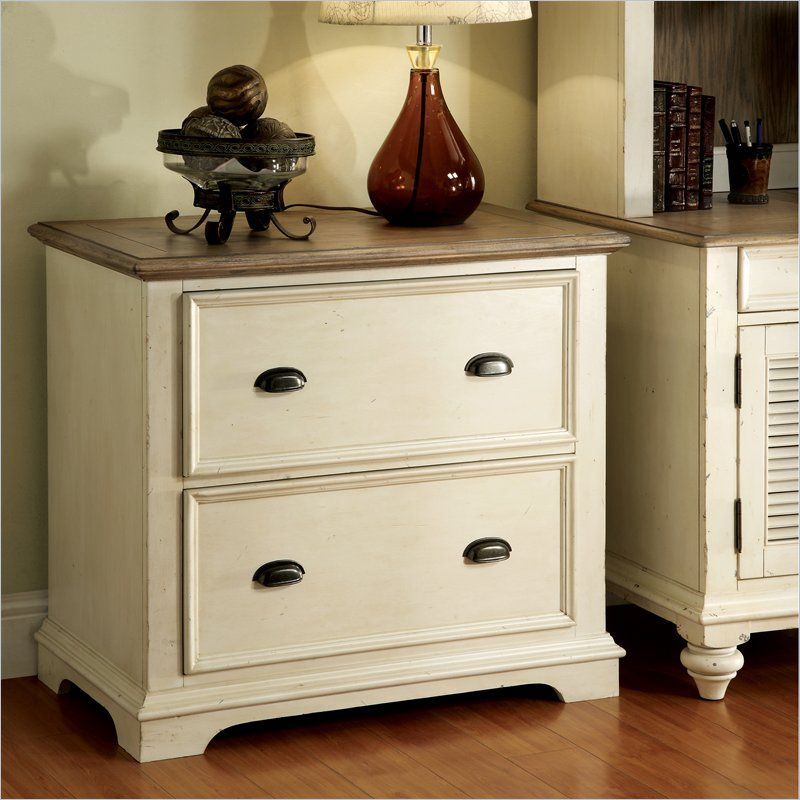 Riverside Furniture Coventry 2 Drawer Lateral File Cabinet In White