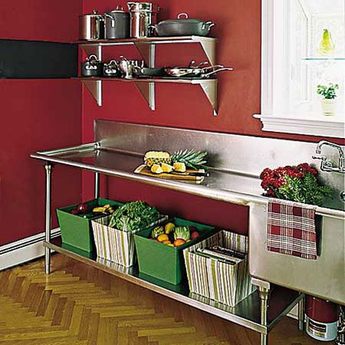 Industrial Kitchen Home: Stainless Kitchens