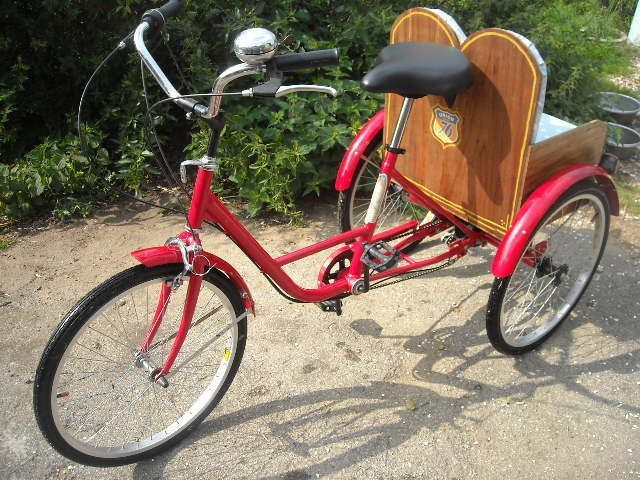 Adult Tricycle 3 Wheeler With Two Child Seats I Can T Wait To
