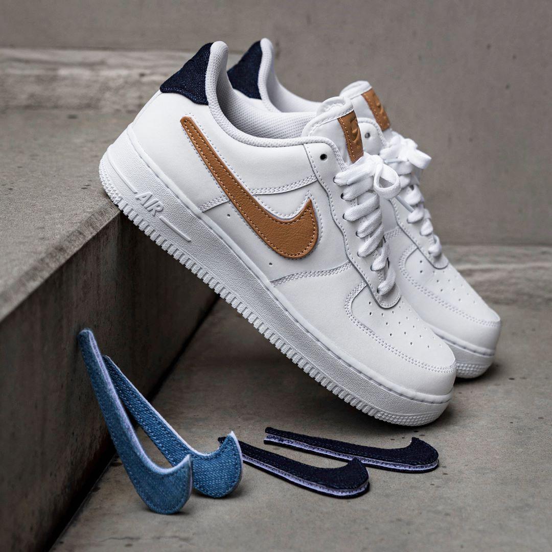 Nike Air Force 1 07 Lv8 3 In Weiss Ct2253 100 Nike Air Force Nike Air Sneaker Kopf