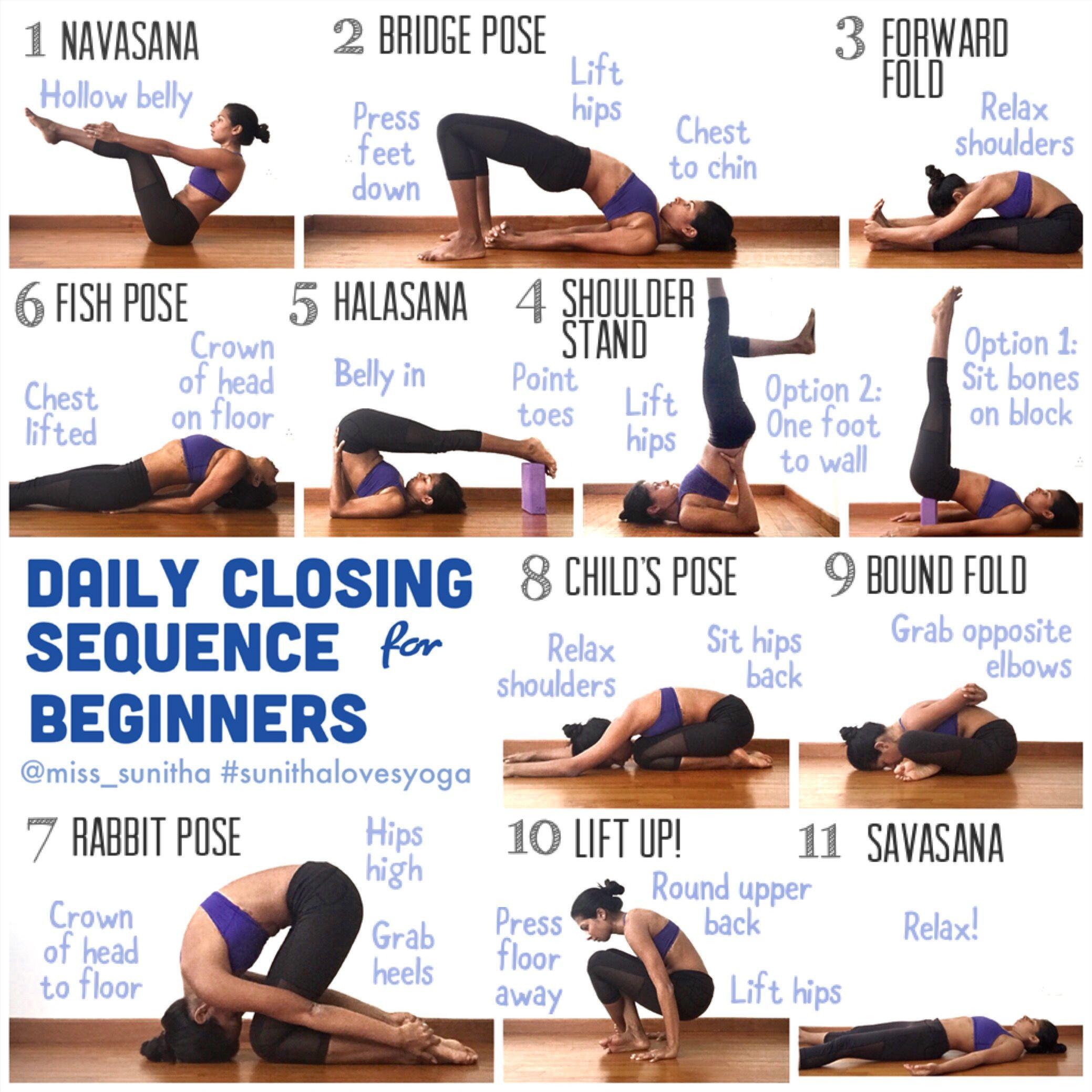 Daily Yoga Sequence for Beginners @miss_sunitha #sunithalovesyoga
