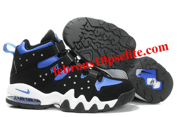 Charles Barkley Shoes - Nike Air Max2 CB 94 Black/Blue