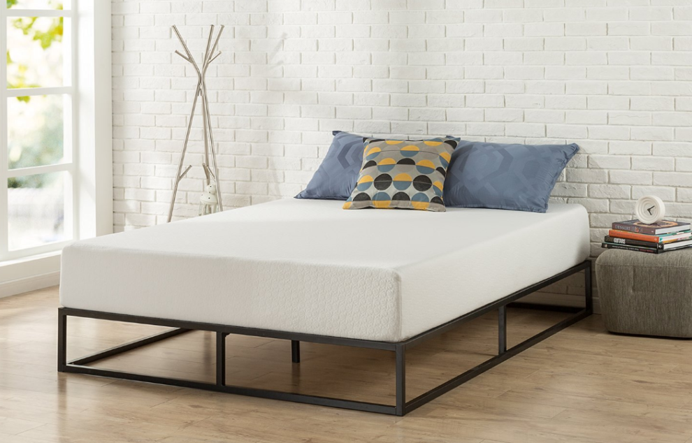 An Inexpensive Platform Bed Frame You Can Use With Or Without A