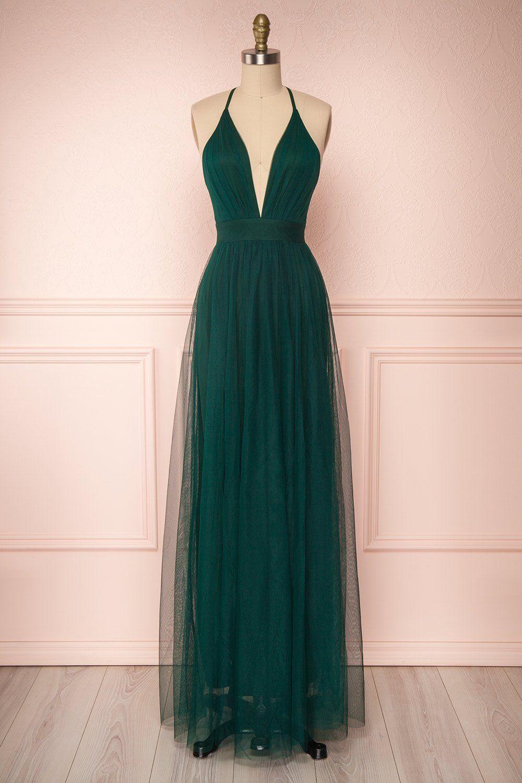 Aliki green in 2020 emerald green bridesmaid dresses