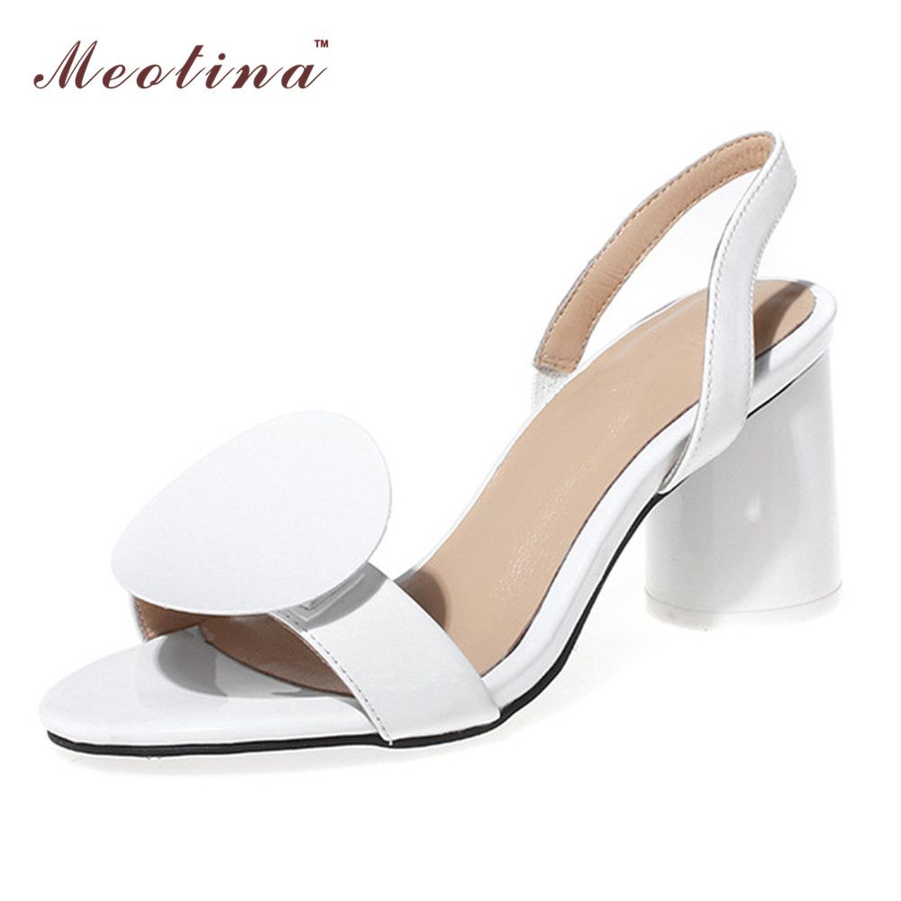 (Buy here: http://appdeal.ru/1r7q ) Designer Shoes Women Luxury 2016 Women Sandals Genuine Leather Shoes High Heels Sandals Party Shoes Ladies Shoes White Black for just US $60.69