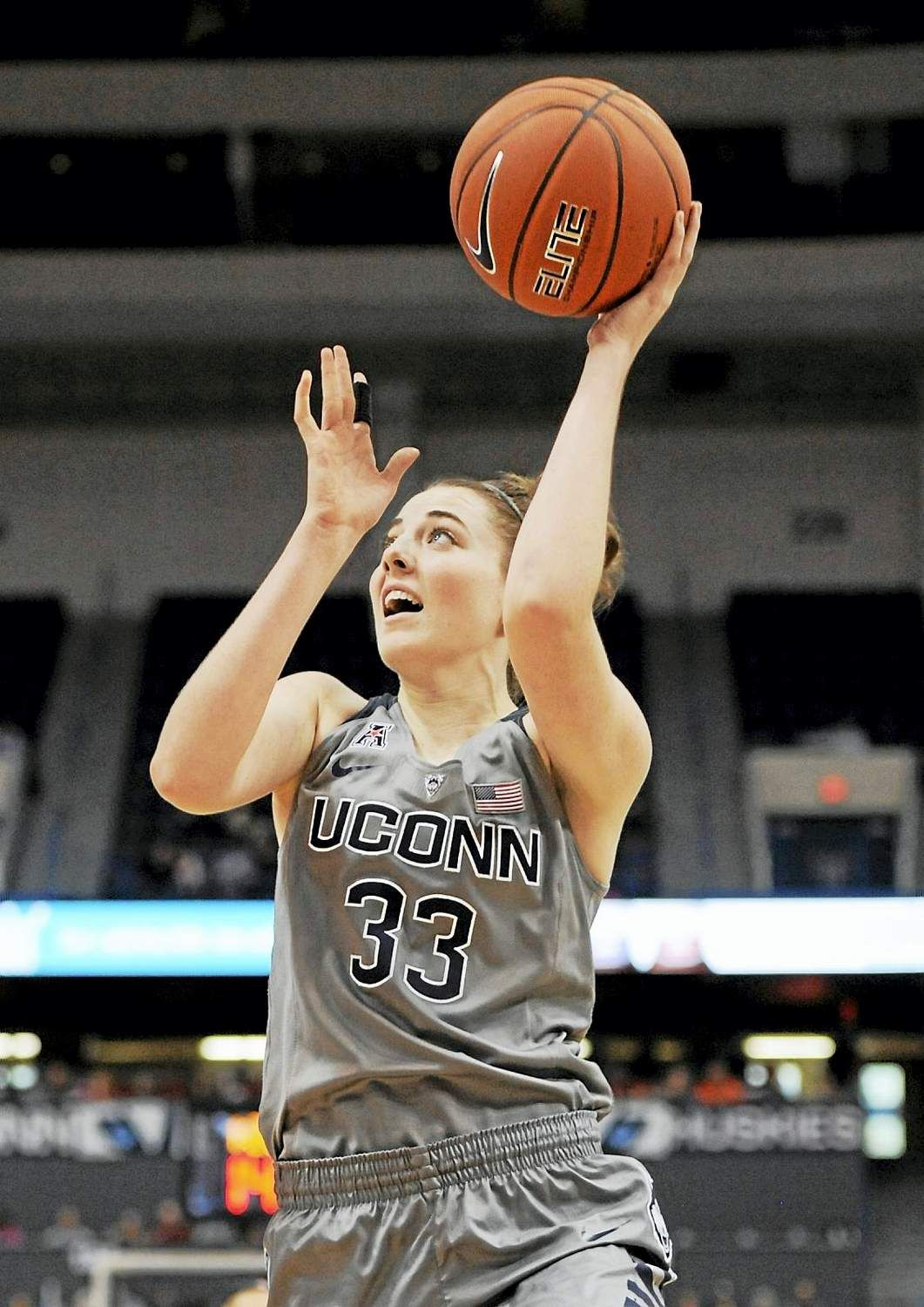 cheap for discount d01e2 70afa UConn freshman Katie Lou Samuelson rounding out her game ...