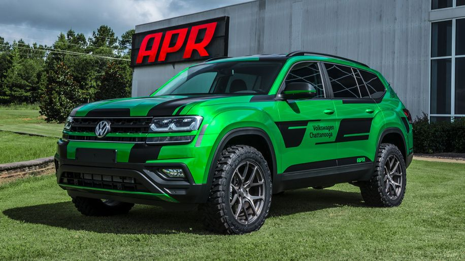 Apr Gives 2018 Vw Atlas Suv More Power Off Road Abilities