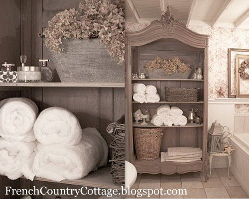 french cottage Bath design – French Country Bathrooms