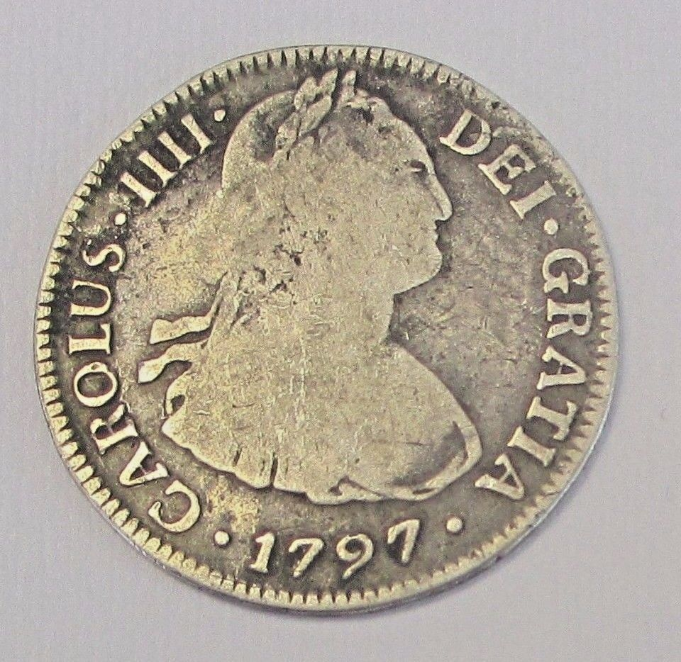 In United Mexico Spanish 2 Reales 1812 Silver Ferdinand 7 Spain 02# World Money Coin Excellent Quality