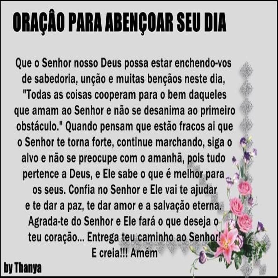 Well-known oração | Orações | Pinterest | Oracao, Mensagem e Fé ZG13