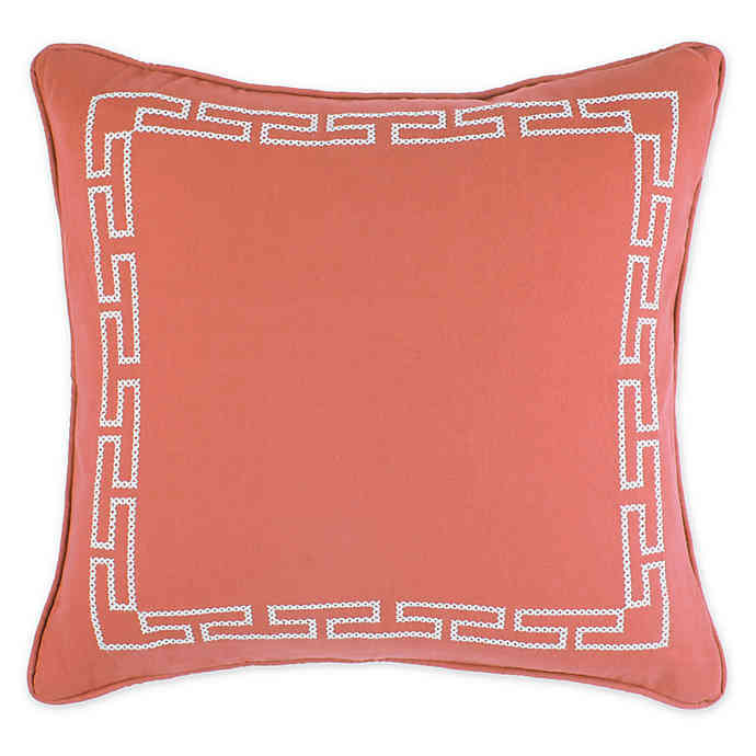 Wamsutta Meader Key Square Throw Pillow In 2020 Square Throw Pillow Wamsutta Throw Pillows