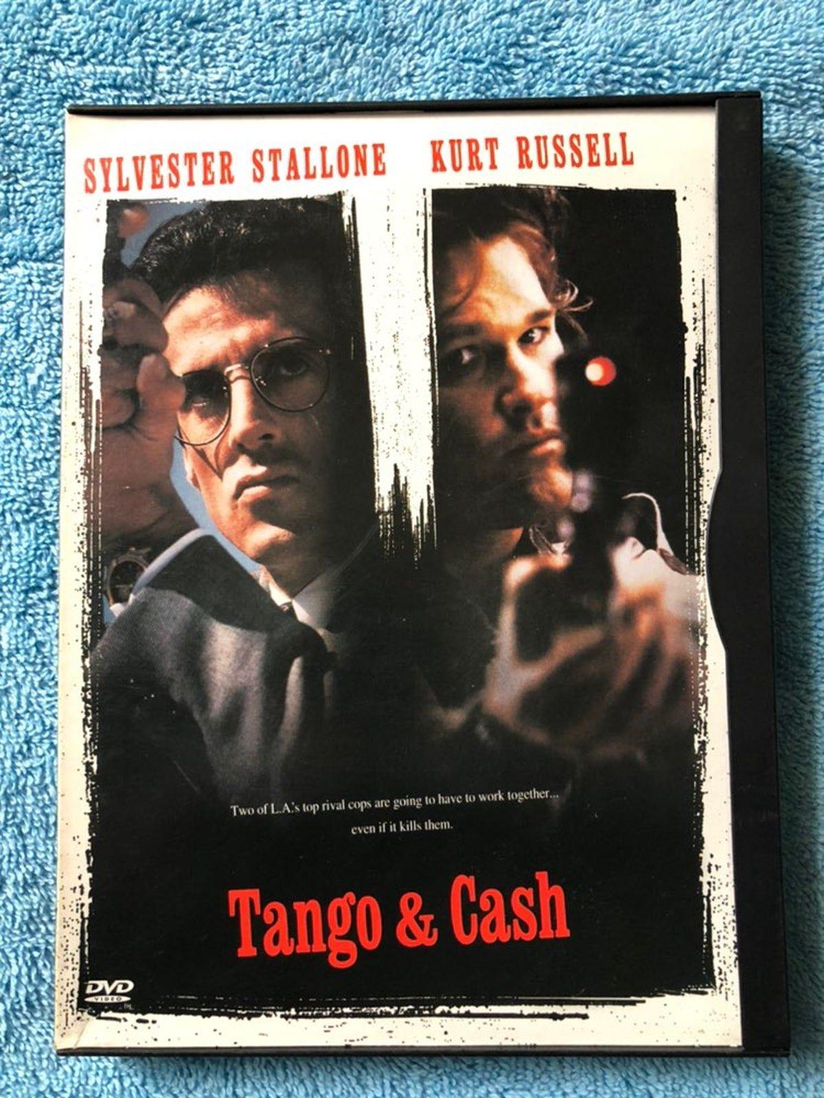 Tango Amp Cash Dvd Tango Cash Tango Sylvester Stallone