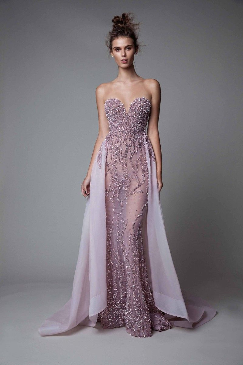 Beautiful intricate gown.. lavender with a hint of plum | Cô dâu ...