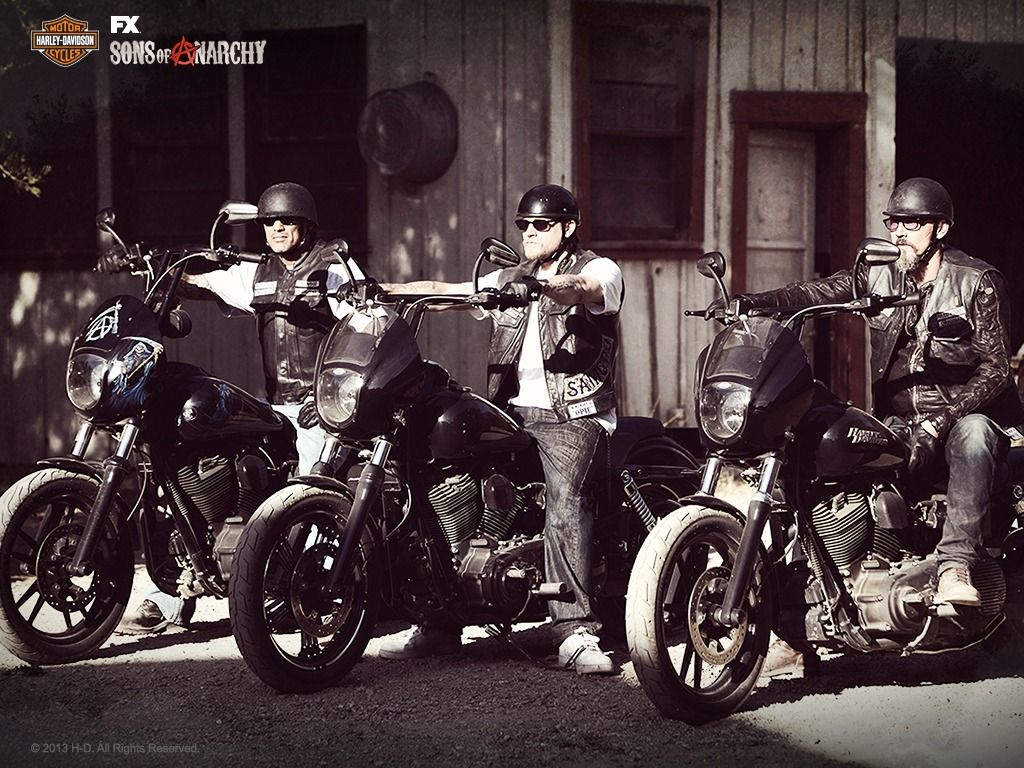 26 Best Free Jax Teller Wallpapers: Sons Of Anarchy/Harley-Davidson Wallpapers