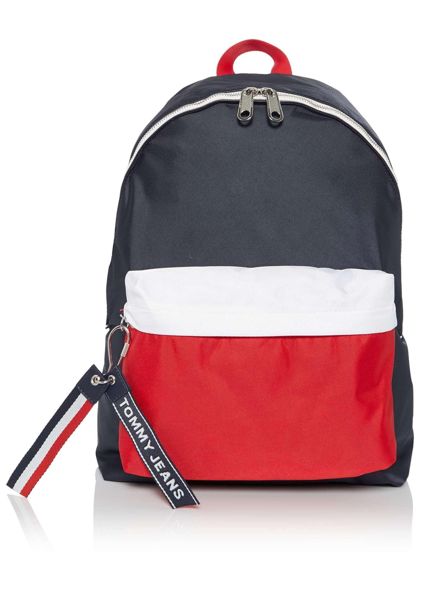 0adad816209c Tommy Hilfiger Tommy Jeans Logo Strap Backpack - House of Fraser ...