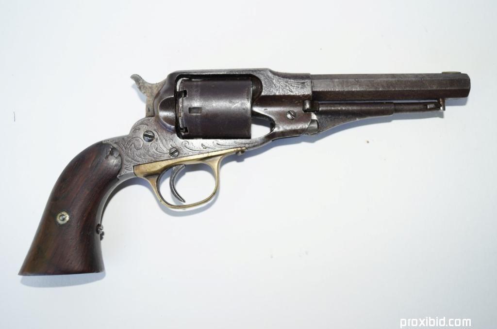 Rancher Henry Hooker's Remington New Model Police Revolver