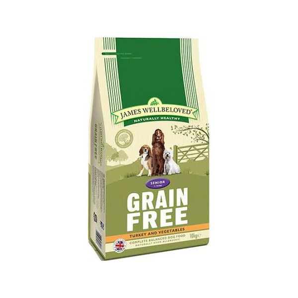 James Wellbeloved Kibble Turkey Grain Free Senior Dog Food