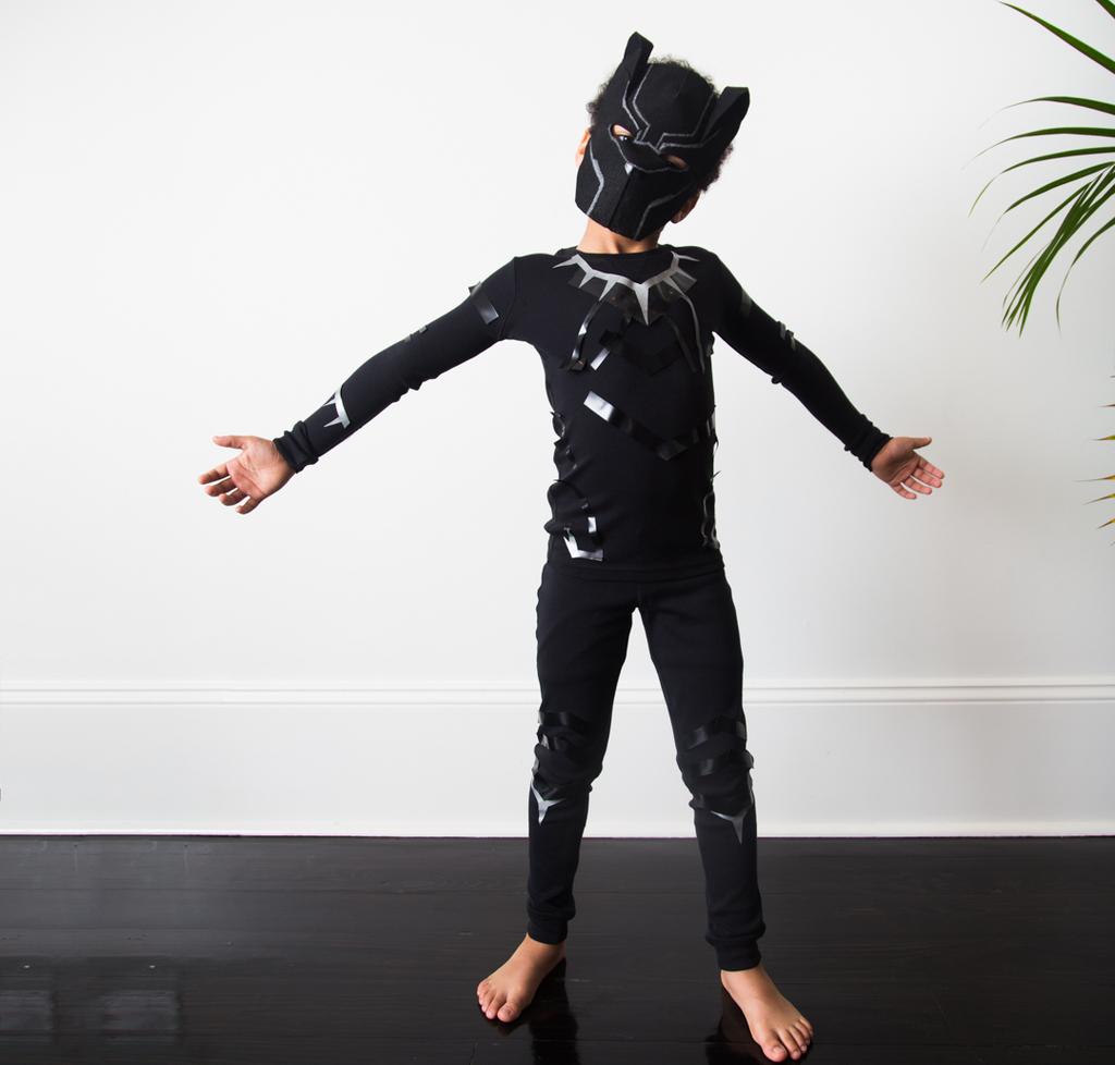 PANTERA NERA MARVEL Boy/'s Fancy Dress
