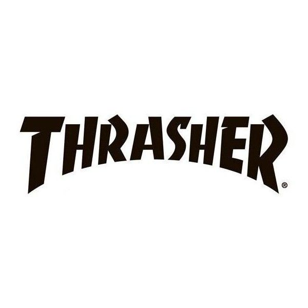 thrasher magazine font? Forum ❤ liked on Polyvore featuring fillers