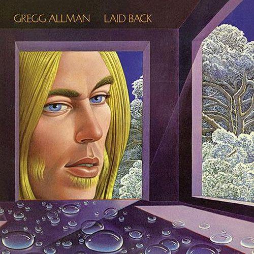 Gregg Allman Laid Back 200g Vinyl Lp Album Cover Art Greggs Midnight Rider