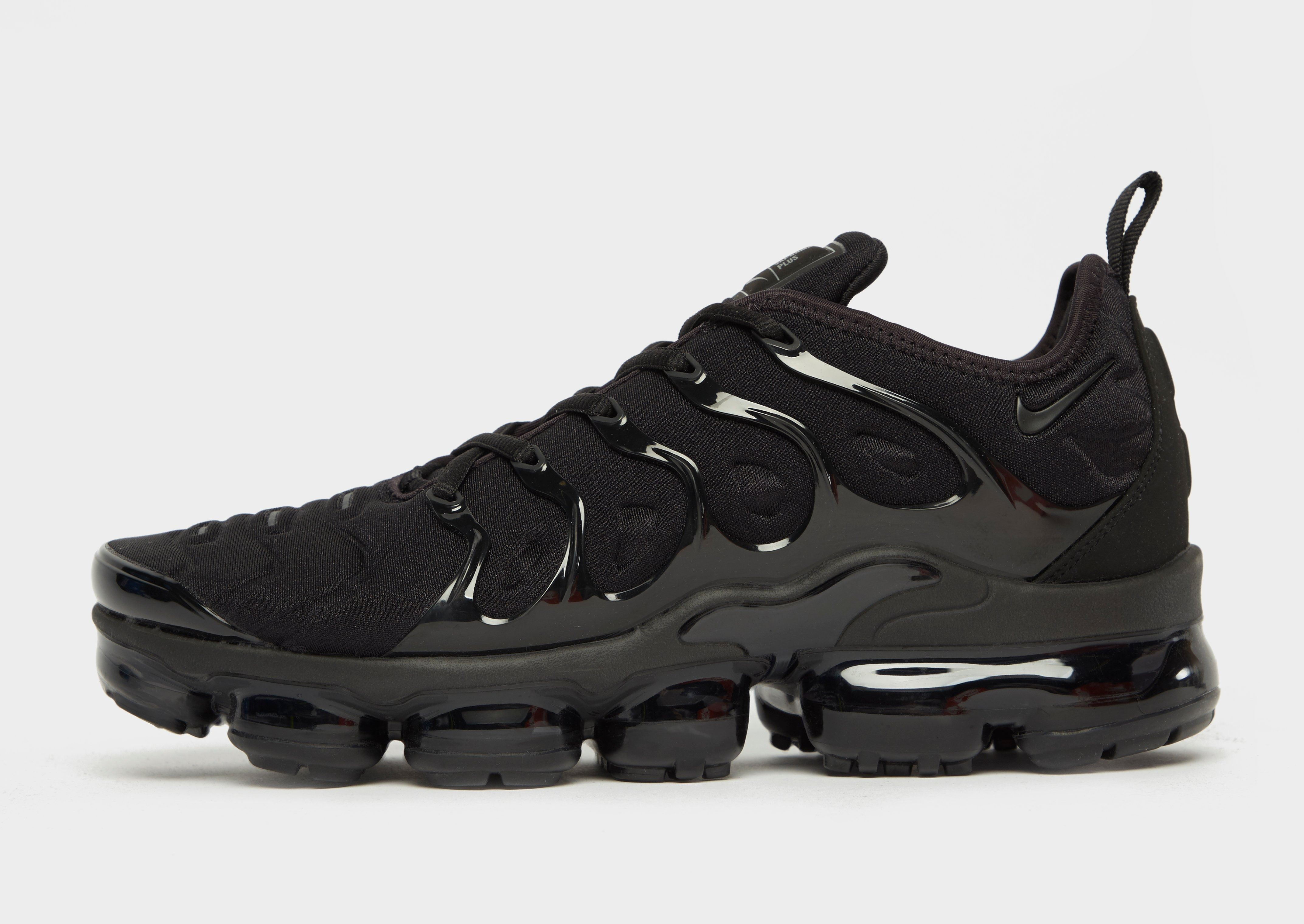 Shop online for Nike Air VaporMax Plus in Black with JD