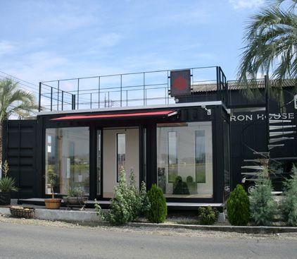 画像 20万円の家 コンテナハウスに住む人々 住宅 ボックス ガレージ