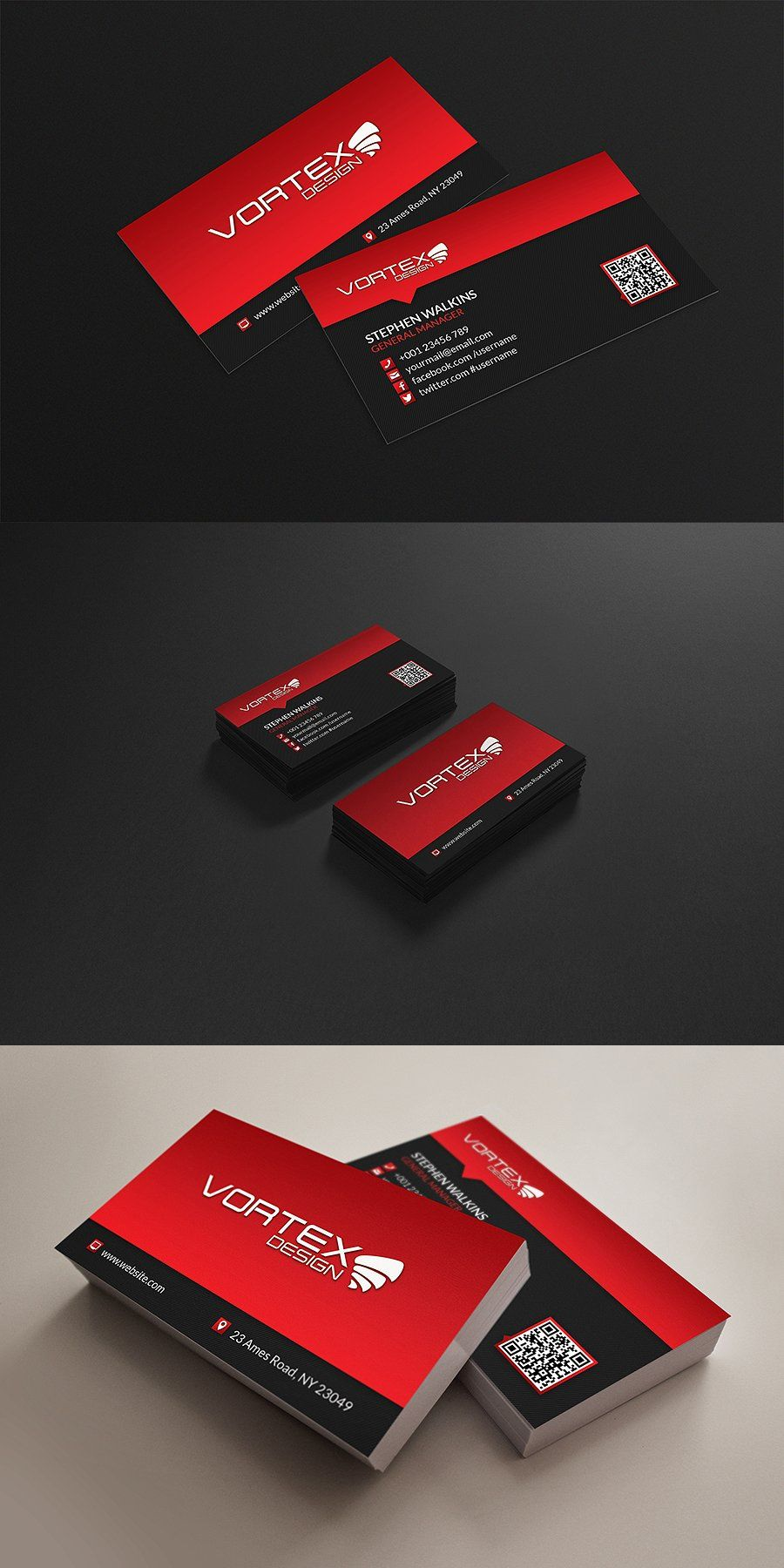 Corporate Business Card Templates Psd Business Card Templates