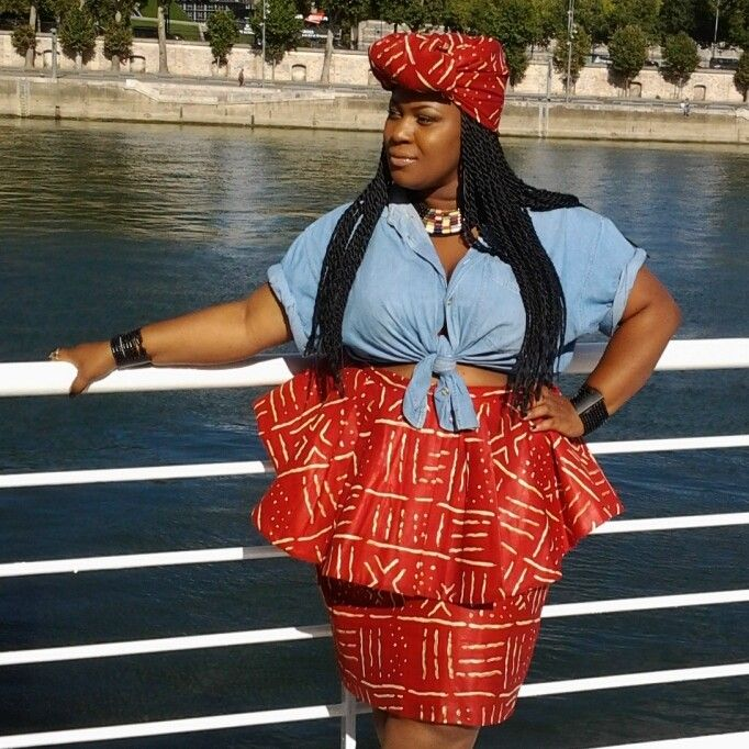 lialiya91:  My style AFRICAIN and turban