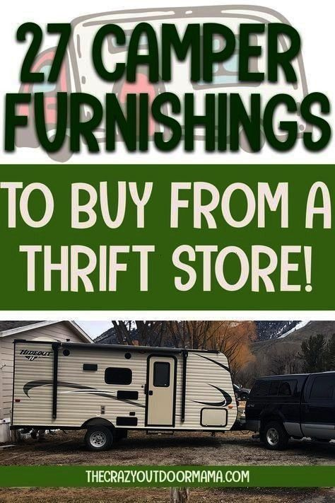 just bought your first camper or RV, you might be diving into all those