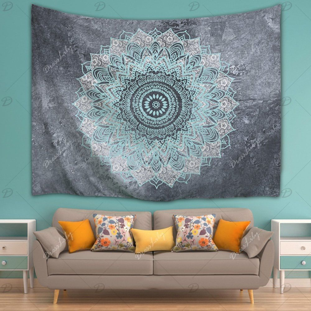 Mandala Wall Art Hanging Beach Throw Tapestry Mandala Wall Art Hanging Wall Art Tapestry