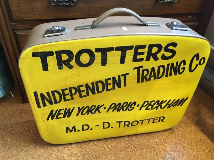 Vintage Decorative Only Fools And Horses Trotter S Etsy Only Fools And Horses Vintage Suitcase Trotters