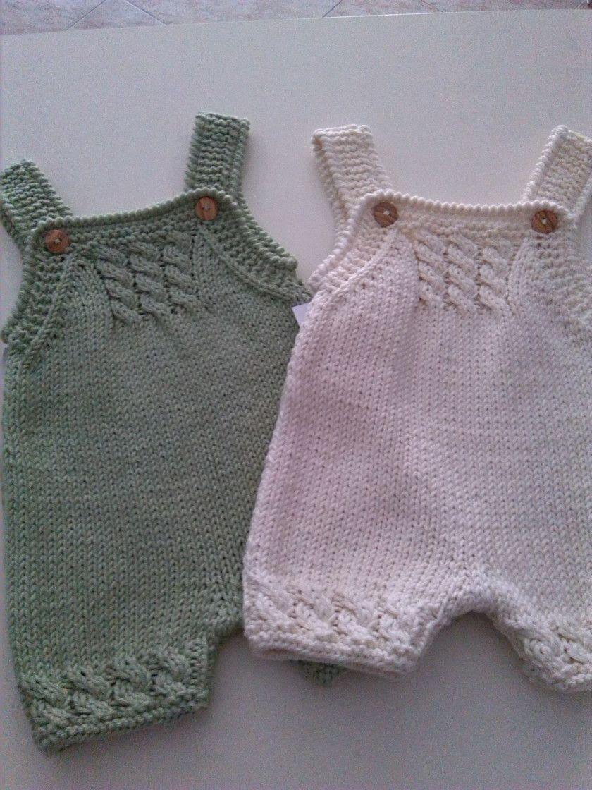 Nuevos petos de hilo!!!!!   Babies, Crochet and Baby knitting