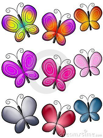 Clip Art Butterflies Clip Art 1000 images about butterflies on pinterest butterfly template postcards and clip art