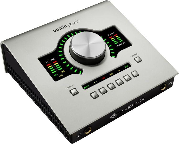 Universal Audio Apollo Twin Mkii Duo 10x6 Thunderbolt Audio
