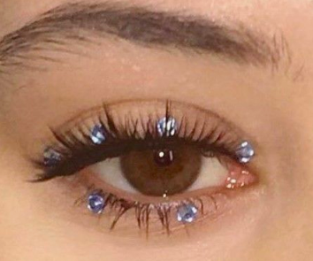 Photo of Euphoria Makeup #glittermakeup No IRL glitter required.
