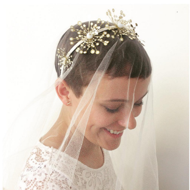 31 Brides Who Absolutely Rocked Short Hair On Their