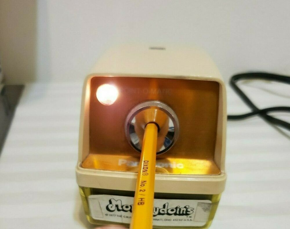Pin On Electric Pencil Sharpener Concepts