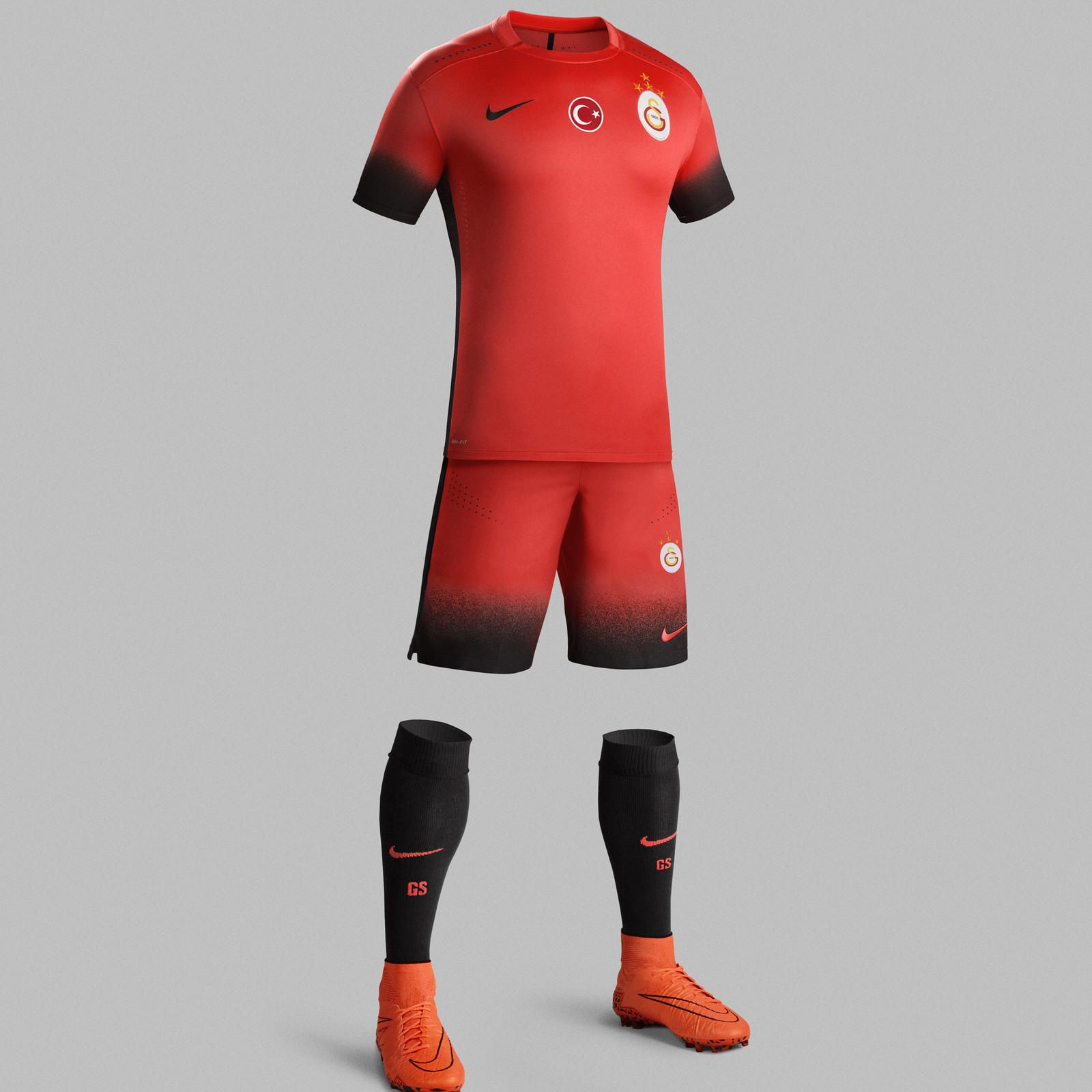 Nike News - Galatasaray Introduces Striking Red Look to Kit Line-Up