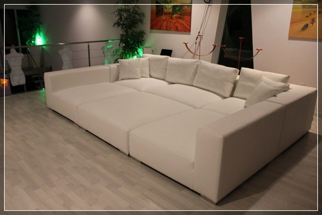 58 Reference Of Big Square Couch Bed In 2020 Pit Sofa Large Couch Wide Couches