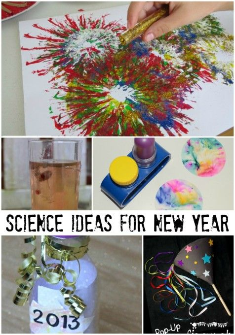 Science for New Year | Science activities for kids ...