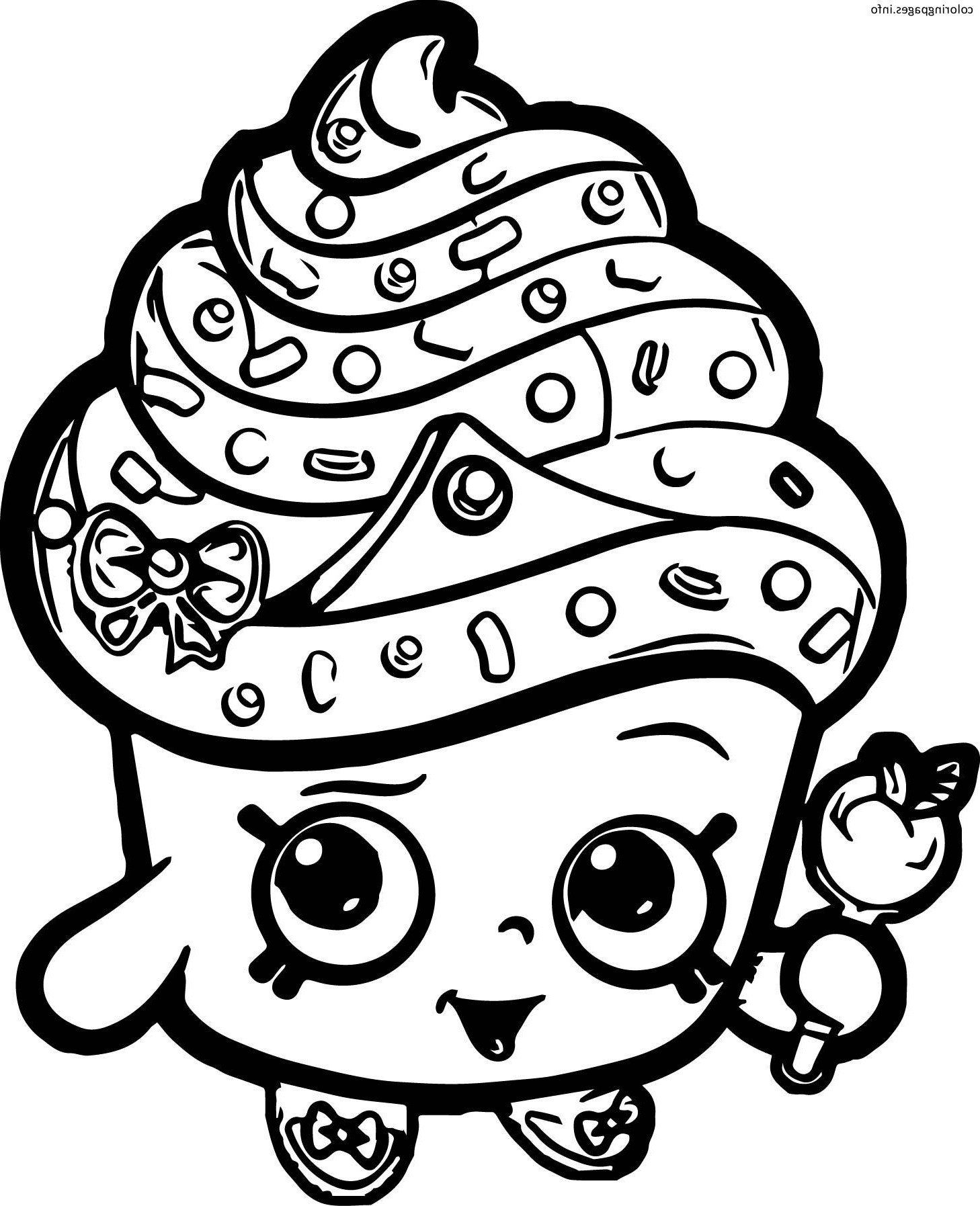 Happy Birthday Shopkins Coloring Pages Coloring Pages