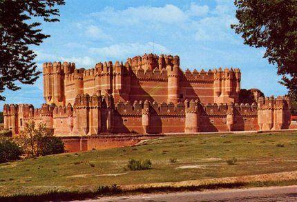 Castillo de Coca (Castilla y León). Spain