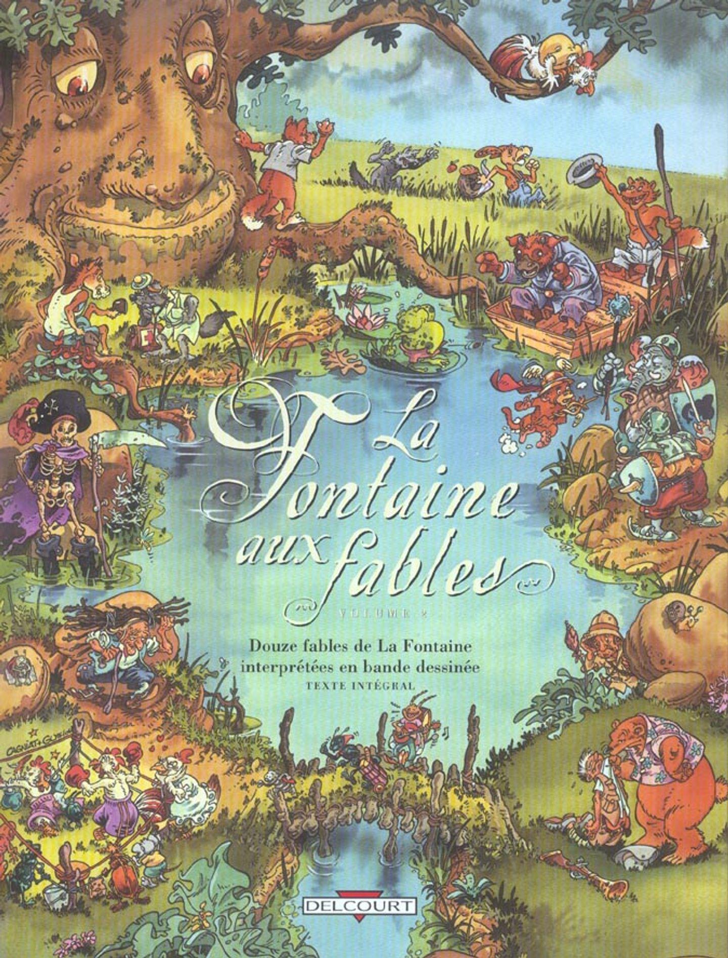 Fables de Jean de La Fontaine - Couvertures du livre de ...