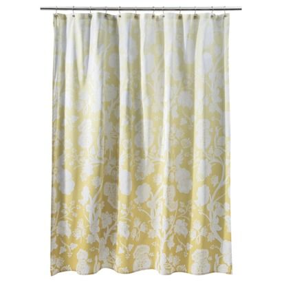 Target Home Shower Curtain Extreme Yellow 72x72 Yellow Shower Curtains Fabric Shower Curtains Floral Shower Curtains