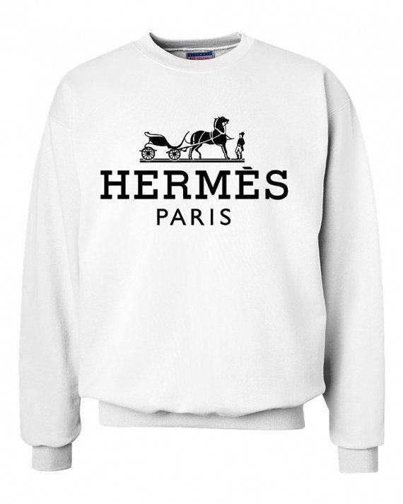 58d3b2919 hermes logo unisex sweatshirt custom crewneck by Syiershop on Etsy  Athleisure, Jumpers, Hermes,