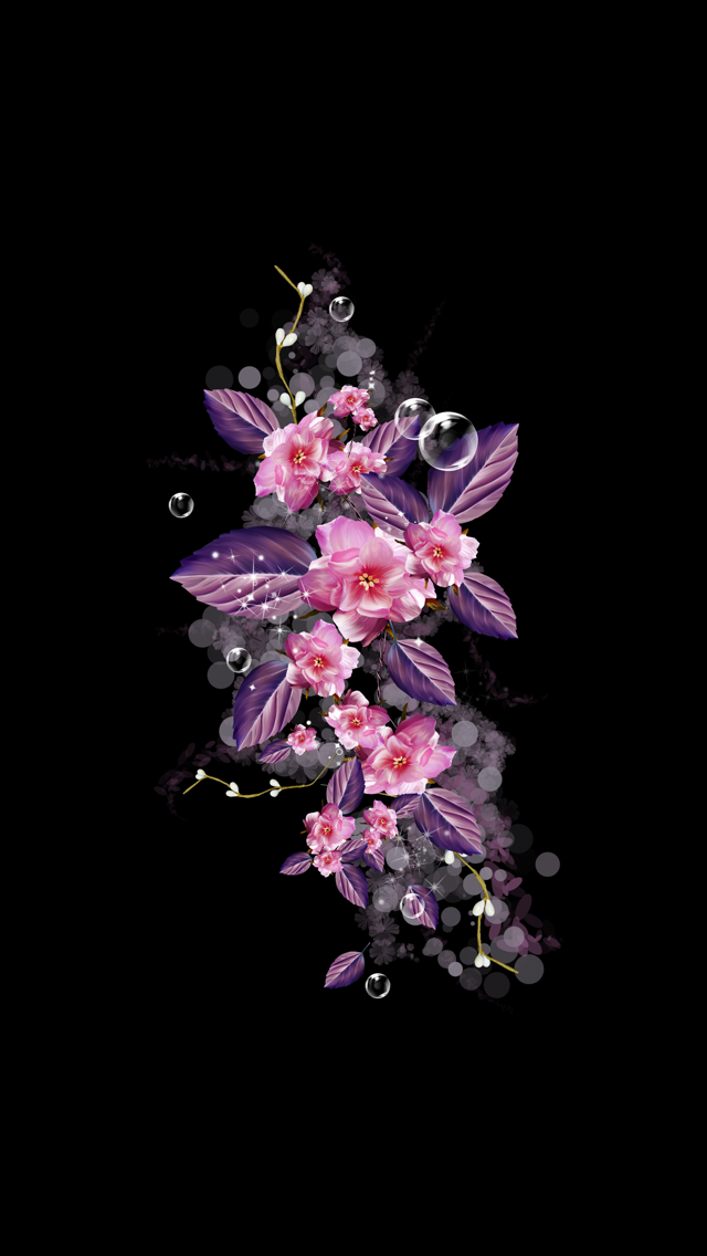 Wallpaper iPhone flowers wallpapers iPhone ⛲️