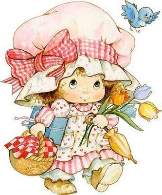 Dibujos A Color De Munequitas Para Ninos Y Ninas Cute Art Cute Drawings Strawberry Shortcake Characters