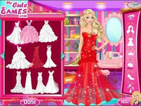 Wedding dress up fashion games