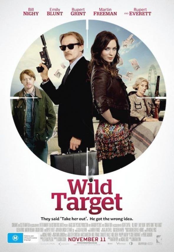 """""""Wild Target"""" starring Bill Nighy, Emily Blunt, Rupert Grint, Martin Freeman, and Rupert Everett"""